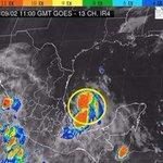 """Tormenta """"Dolly"""", en el Golfo de México se desplaza hacia el oeste-noroeste con rumbo a las costas de #Tamaulipas http://t.co/FhEcxVntLy"""