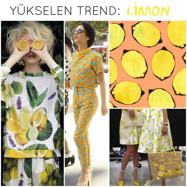 Son yılların favori deseni ananasın yerini bu yıl limon alıyor! :) #lemon #lemonprint http://t.co/QgNF9JyTNK