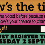 RT @YesScotland: The deadline to register to vote in the #indyref is midnight tonight: http://t.co/CSCIph9xvx #VoteYes http://t.co/UXui4xS74A