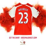 RT @Arsenal: Danny Welbeck will wear No 23 for @Arsenal - get your shirt now: http://t.co/5wnwGFXSMO #WelcomeWelbeck http://t.co/u7klYKm9MO