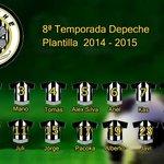RT @Depeche_Team: Cambiamos de JDM a la Liga EliteFútbol con ésta plantilla en nuestra 8ª Temporada. #VamosDepeche http://t.co/VNZTt0tRhD