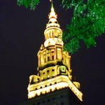 September is Pediatric Cancer Awareness Month and Terminal Tower is Gold this morning to help raise awareness. http://t.co/W1fkq34U4w