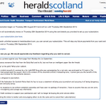 No apology, no retraction, no response to a complaint, @heraldscotland Ive cancelled and I wont be back. #VoteYes http://t.co/g7CLaTSIsQ