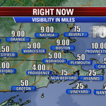A foggy AM drive to work & school. Remember to send back to school pictures to pix@myfoxboston.com! #fox25 #Boston http://t.co/zKPQKOqVUw