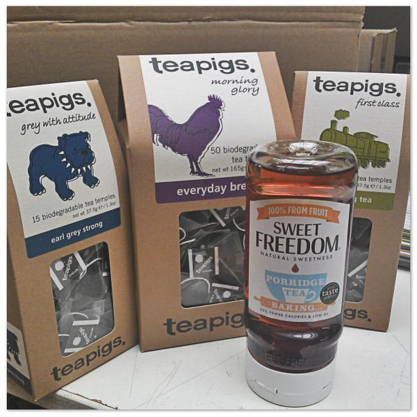 WIN a bundle of our black teas & a bottle of super tasty sweet freedom @ChocShot! RT & follow to enter, ends 7.9.14 http://t.co/B39igJGWYv