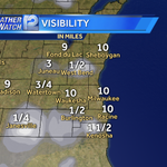 Heads up! Patchy fog this am. #lowbeams #slowspeeds in foggy areas. @wisn12news has your #backtoschool weather. http://t.co/jzMl772sFI