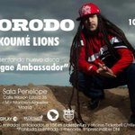 "RT @MAD91Familia: VIERNES 10 DE OCTUBRE @MorodoStyle & OKOUMÉ LIONS PRESENTAN ""REGGAE AMBASSADOR"" EN LA @SalaPenelope #MADRID 1L! http://t.co/OBNZGce2JN"