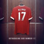 #mufcs other deadline-day signing, @BlindDaley, takes the no.17 shirt at Old Trafford. #DaleyJoins http://t.co/ElwW6YfluA