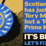 Scotland has just one Tory MP, but a Tory Prime Minister #ScotlandDecides #indyref http://t.co/modKFlAHcd