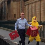 Jim Murphy and a chicken http://t.co/nIJd2i72v0
