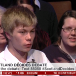 RT @GenYes2014: A very smart young voter raises great questions about the UK's use of Scotland's tax base. #indyref #ScotlandDecides http://t.co/AAPdctDjqS