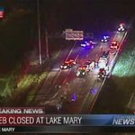 #I4 #Shutdown #LakeMary: Crews still need to clean up the mess left behind on #I4 EB by Lake Mary Blvd. http://t.co/dDkS6ZCOCt