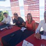 Début de la conférence de presse de #CarlosEduardo sur la terrasse du Radisson Blu http://t.co/AqiVqVFcvX