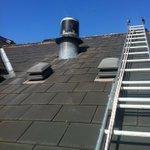 Nice day to change a #vertical flue. #marstonmoretaine #bedford #MiltonKeynes #heating #boiler #carehomes http://t.co/v88RJvEcWv
