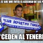 RT @memedeportes: Marca el gol que evita el ascenso de Las Palmas http://t.co/lub1vh6Whm http://t.co/o1LH1puNda