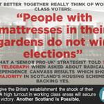 Senior No strategist quoted in Telegraph shows the utter contempt in which they hold working class voters #indyref http://t.co/IDmZiWjBfU