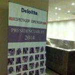 A las 8.30, @espectador810 y @DeloitteUruguay inauguran el ciclo #Presidenciables2014. Invitado: @PedroBordaberry http://t.co/KNBqp9fESa