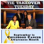 "We are ""Going Gold"" this morning for Childhood Cancer Awareness Month! Over 2000 votes again! Tie ""C""! #TTT #wftv http://t.co/Xloxwz2dL1"