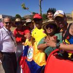 .@SenalDeportes @LUCHOTEESCUCHO con los colombianos en Borja meta de @lavuelta 8:30 x @SenalColombia #FuerzaColombia http://t.co/0pIt71vk0P