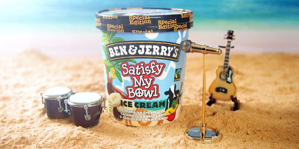 Inspired by @bobmarley we proudly introduce Satisfy My Bowl, headlining in a freezer near you! #Peace1LoveAndIceCream http://t.co/liZxPvHHRY