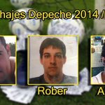 Fichajes 2014-2015 @Depeche_Team . #BienvenidoJavi #BienvenidoRober #BienvenidoAlberto #VamosDepeche !!! http://t.co/P06LUYxGh3