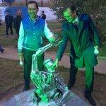 RT @yakutia: @AisenNikolaev и Дм. Глушко сегодня на берегу о. Талое на открытии 3-го биеннале современного искусства BY. #Якутск http://t.co/fqEeGQbD5E