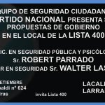 RT @elancaster400: Este viernes te esperamos p conocer las propuestas sobre Seguridad d @luislacallepou @robertparrado @WalterHLascano http://t.co/EyBsyn1B9q
