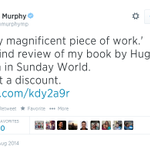 RT @SuperGeeMac: Revealed ~ the real reason behind Jim Murphys #100Streets tour @jimmurphymp #IndyRef #Yes . Flogging Books http://t.co/CDTETk4EBH