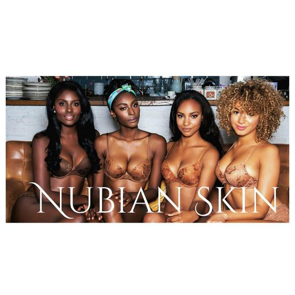 Very excited for this campaign! @nubianskin nude lingerie for dark, brown and tanned skin!! http://t.co/kaBbzCQZDI