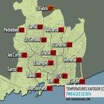 Tot i els núvols i que el mercuri marca 25º... #Barcelona és ara mateix una sauna #xafogor. http://t.co/sYR9l3anBy