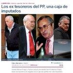 Sr. MONTORO: ha mirat a casa seva ? 4 TRESORERS del PP imputats http://t.co/XFBuRTifTd #MarcaEspaña http://t.co/p0uG882k8y