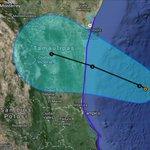 RT @David_Korenfeld: Trayectoria prevista para la tormenta tropical #Dolly, en el Golfo de México. http://t.co/BbT6i7bZIQ