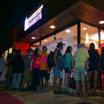 RT @ABC7: Long line this morning as Dunkin Donuts opens its first SoCal restaurant. @ABC7BriWinkler has details at 5:30am http://t.co/PRWsfZDq5e