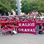 RT @RaijosGranas: Los Raijos Granas ya están en el Palacio de los Deportes para animar a @ElPozoMurcia_FS #MurcianistasconElPozo http://t.co/Zz4SGHDI8K
