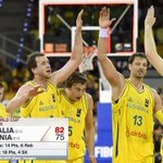 RT @ESPNNBA: Australia holds off comeback, hands Lithuania its first loss at 2014 @FIBA Basketball World Cup. #Spain2014 http://t.co/Ay6U7PAwWT