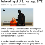 RT @PraveenraoU: Secular Islamists of ISIS beheaded another American -> http://t.co/DrjnoekmSQ