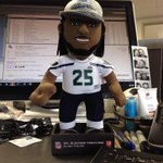 RT @nswannyswan: @nswannyswan: I have a new coworker today @RSherman_25 @Seahawks #LOB http://t.co/PAlNdOTYpB