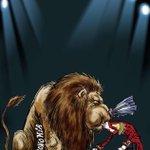 En el espectáculo mediático del #SegundoInforme de EPN, la fiera es la economía. El cartón por @CartonCamacho http://t.co/zR0UZAEPbA