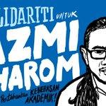Solidariti untuk Azmi Sharom. Pertahankan kebebasan akademik. #MansuhAktaHasutan http://t.co/wDlOTaWdPu