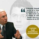 No se pierda Hoy 6:00 PM, canal del Congreso e Institucional #SaludCoopADebate. @JERobledo http://t.co/YPRokjPh4z http://t.co/CoWqybrmAN