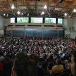 RT @UNBConferences: UNB commencement ceremony; welcome new students! Theres no better place than UNB! @UNB @UNBFredericton http://t.co/rp3IKXllwB