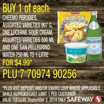 RT @SafewayCanada: Get perogies, sour cream & San Pellegrino Water for $4.99+tax!#SafewayDeals #Canada #yyc #yeg #yvr #ywg http://t.co/fYghOoxEMF