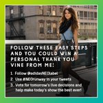 RT @selenagomez: #NEOrunway is tomorrow! Follow @adidasNEOlabel to vote LIVE & see here how you can get a Vine shout out from me http://t.co/hCII2968Z2