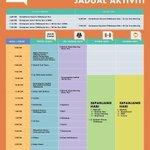 Jadual aktiviti #FitMalaysia Dataran Merdeka, KL pada 07.09.2014. Get fit. For life. http://t.co/tOYdTHpMJN