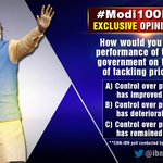 RT @joel__Samuel: Has Modi Govt been successful in tackling price rise? findings of #Modi100Days poll @bhupendrachaube 8pm @IBNLive http://t.co/TtfXG01DSy