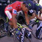 RT @Movistar_Team: Calientan @NairoQuinCo (9.52am COL) y @alejanvalverde (16.48h) sobre los rodillos @Elite_cycling. #LaVuelta http://t.co/3xaVCkYsY1