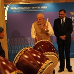 RT @narendramodi: Tried my hand at the drums today! Enjoyed the experience. http://t.co/EwWQPCMWkP http://t.co/kHQiTnzHEq