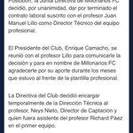 RT @WillyRodri13: @REVISTA_LALIGA @MillosFCoficial Ya es oficial: http://t.co/YeL0BOkkka