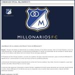 RT @MillonariosNY: #CONFIRMADO Juan Manuel Lillo no continúa como Director Técnico de Millonarios FC - via @MillosFCoficial http://t.co/GD5ftiM7vj