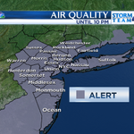 ***AIR QUALITY ALERT*** in effect 2pm-10pm. #takeiteasy #smog #NYC http://t.co/4jsRlK7XcO